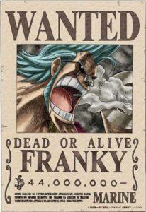 ワンピース フランキー 一家